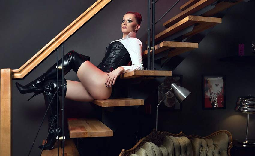 Mistress In Tight Boots