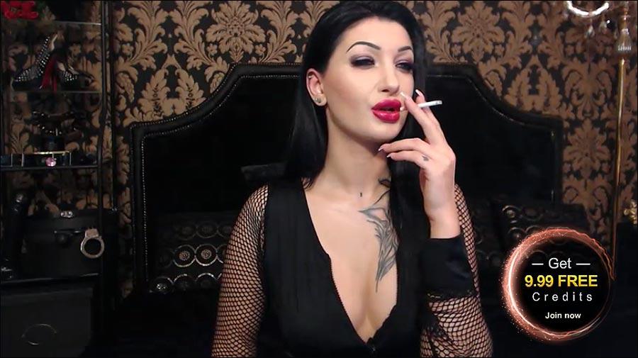 Smoking fetish world