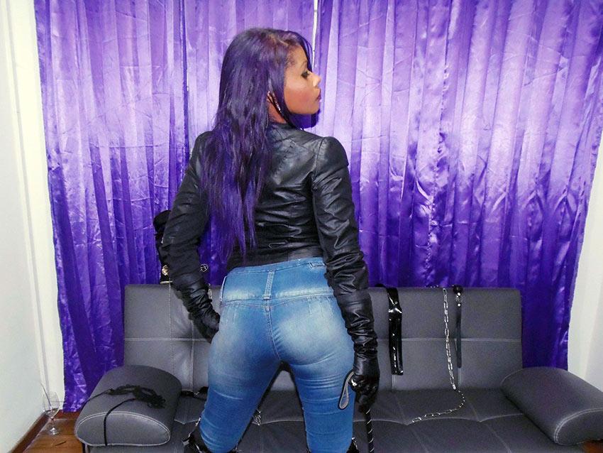 live jeans femdom fetish