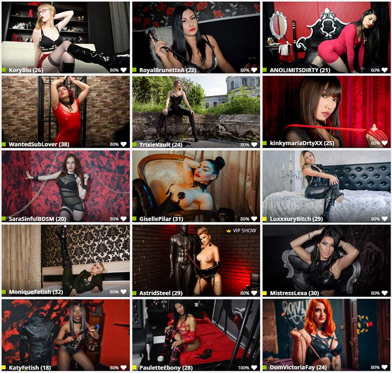 Mistress Chat Rooms Mistress Cams Online